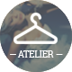 Fashion Atelier - Wedding Bridal and Groom Shop - Wedding Site Templates