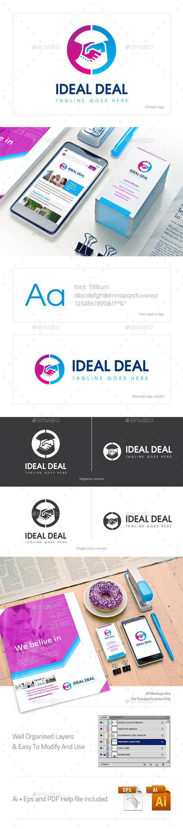 GraphicRiver Ideal Deal Logo 10603315