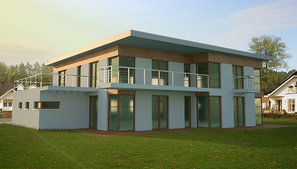 Modern House - 3DOcean Item for Sale