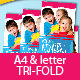 Tri-fold Kindergarten Brochure - GraphicRiver Item for Sale