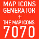 Map Icons Generator + The Map Icons 7070
