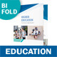 Education Bifold / Halffold Brochure - GraphicRiver Item for Sale
