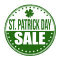 St. Patrick's Day sale stamp - PhotoDune Item for Sale