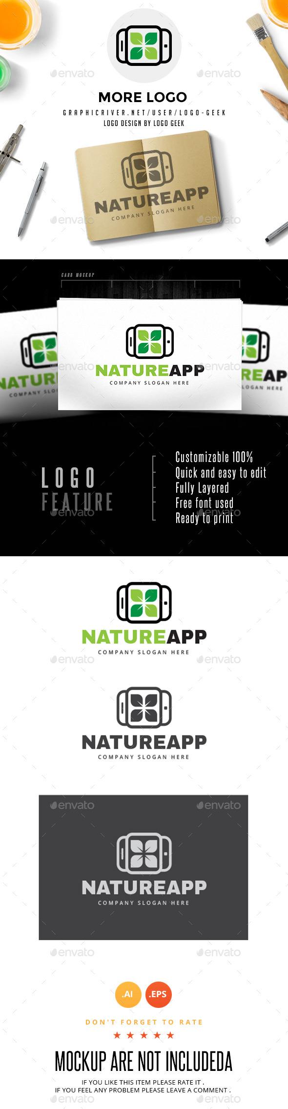 GraphicRiver Nature App 10604246