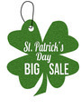 St. Patrick's Day big sale label or price tag - PhotoDune Item for Sale