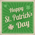 Happy St. Patrick's Day retro poster - PhotoDune Item for Sale