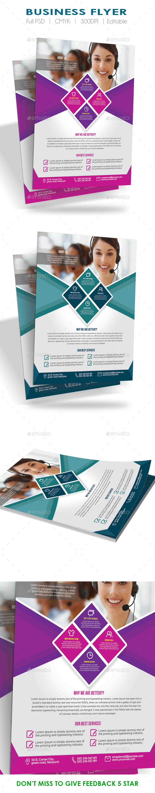 GraphicRiver Corporate Business Flyer 10604386