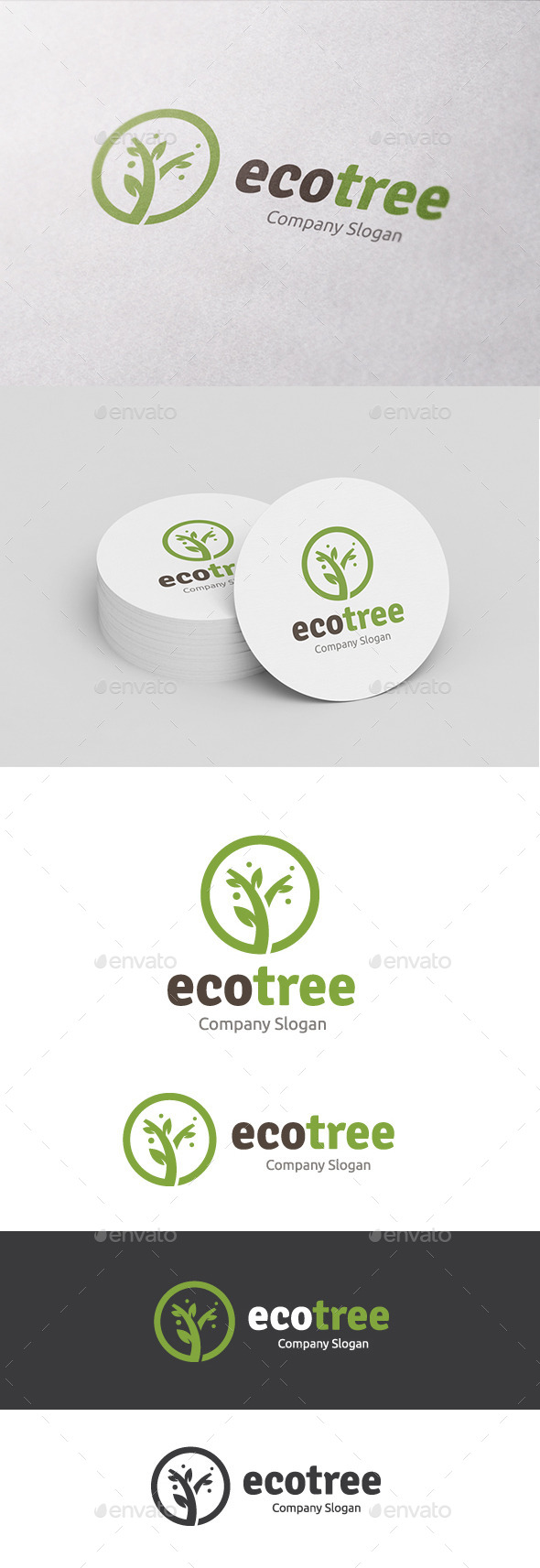GraphicRiver Eco Tree 10604554