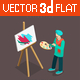 Artist Painter - GraphicRiver Item for Sale