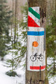 Signs for tourist horse-, ski-, bike-, and hiking-trails - PhotoDune Item for Sale
