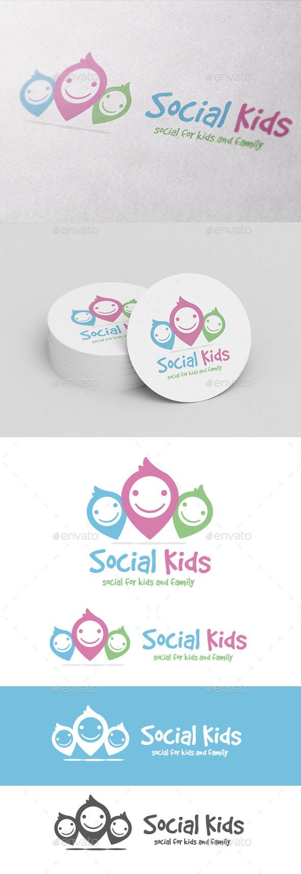 GraphicRiver Social Kids 10604968