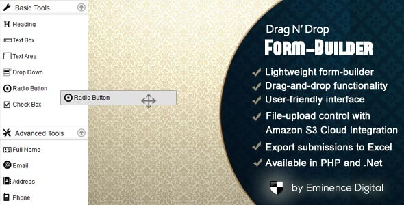CodeCanyon Drag N Drop Form-builder for PHP 10605401
