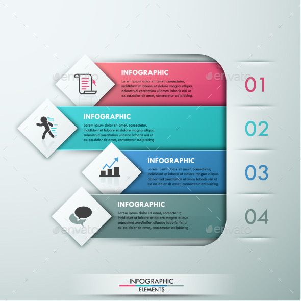 GraphicRiver Modern Infographic Paper Template 10605495