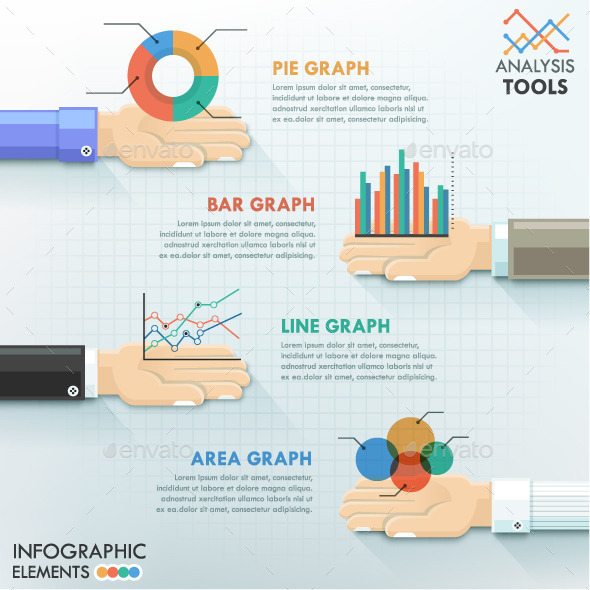 GraphicRiver Business Hands Teamwork Infographics 10605555