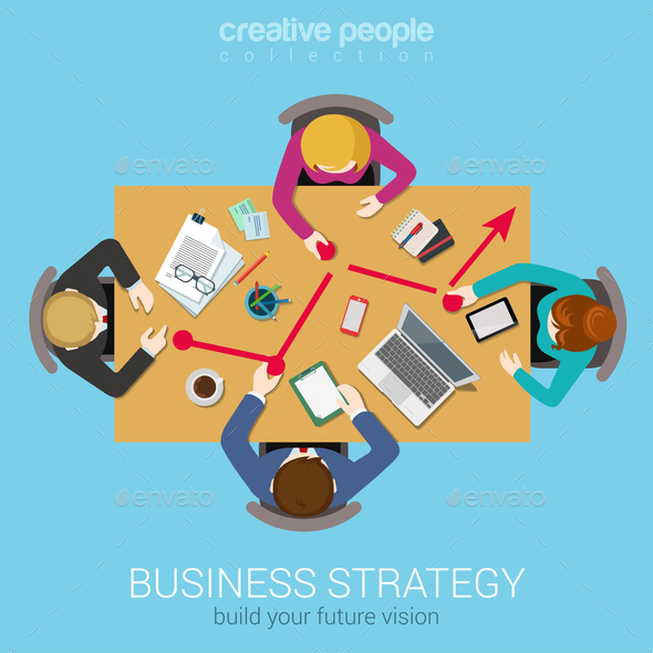 GraphicRiver Business Strategy Graphic 10606112