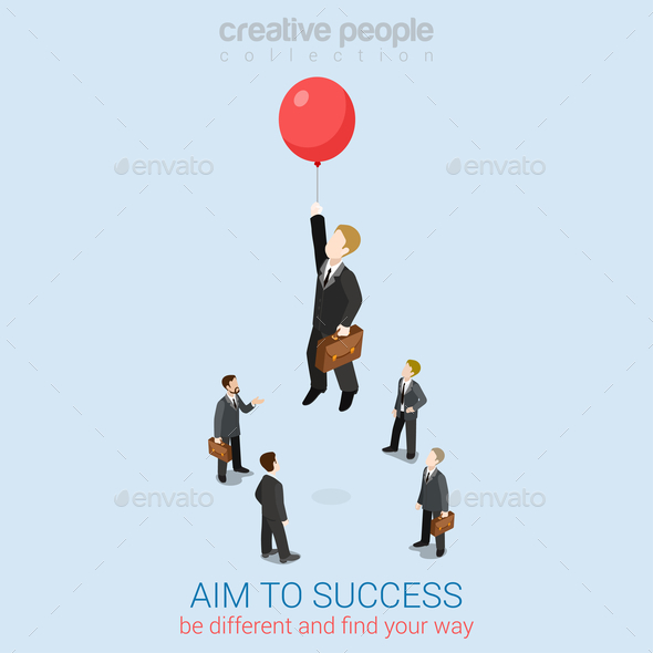 GraphicRiver Aim to Success 10606143