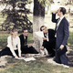 Young business people working in a city park - PhotoDune Item for Sale