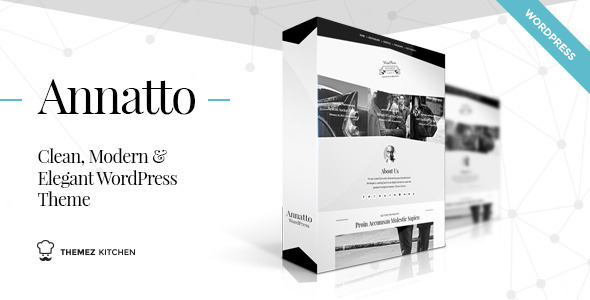 ThemeForest Annatto Clean and Elegant WordPress Theme 9657786