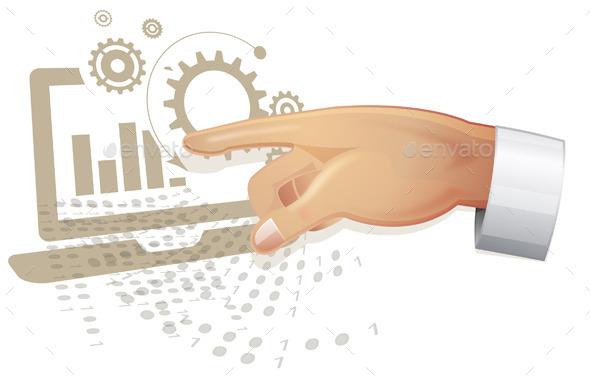 GraphicRiver Web Application Development Concept 10606416