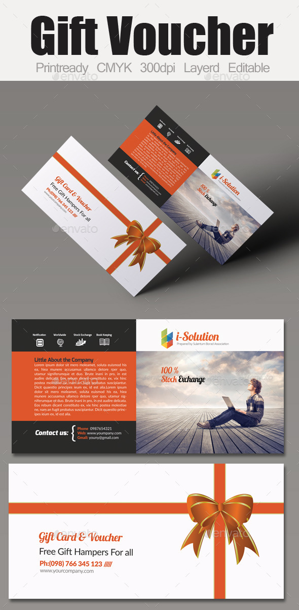 GraphicRiver Multi Use Business Gift Voucher 10606488