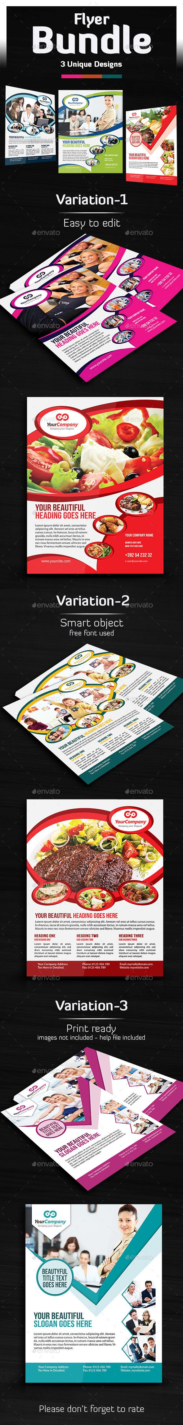 GraphicRiver Flyer Bundle 10606913