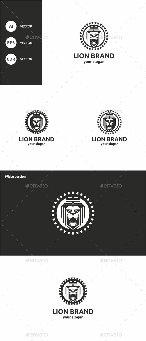GraphicRiver Lion Brand 10607131