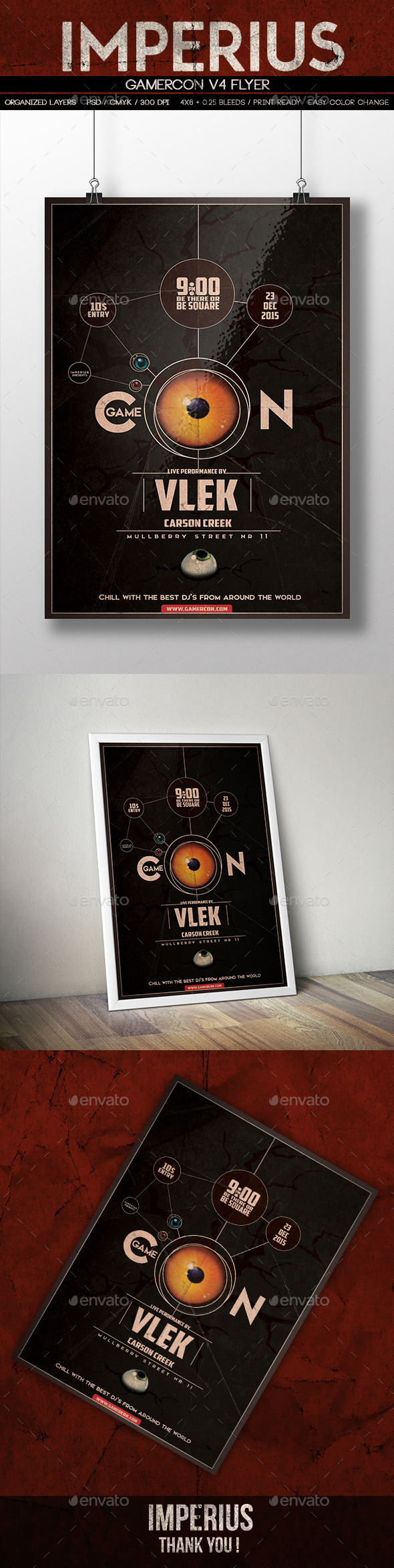 GraphicRiver GamerCon V4 10607140