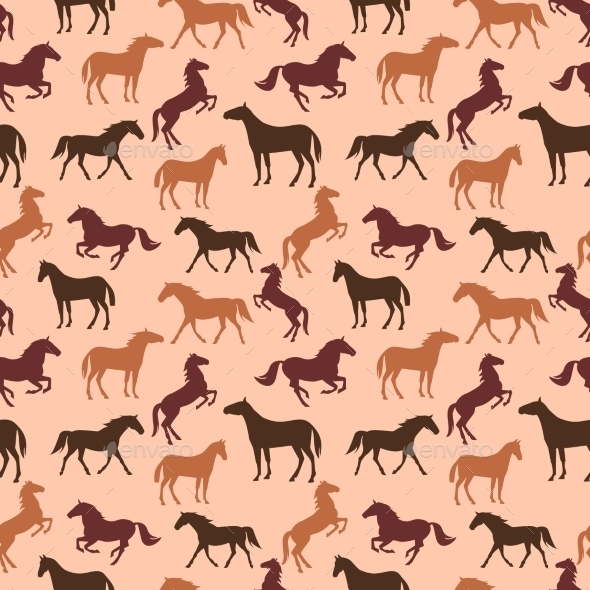 GraphicRiver Horse Pattern 10607138
