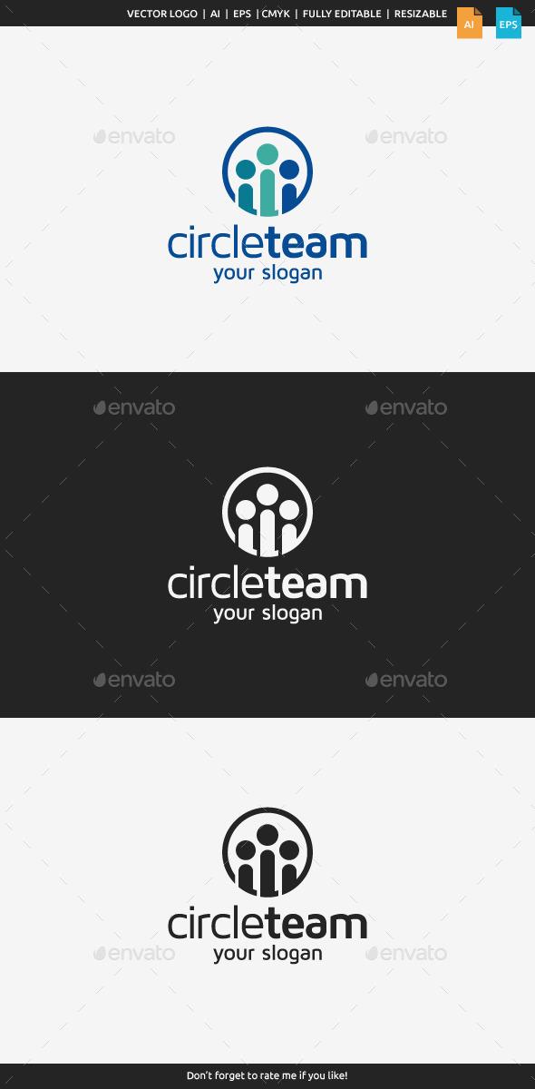 GraphicRiver Circle Team Logo Template 10607148