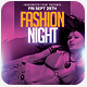 Fashion Night Summer Flyer Template - GraphicRiver Item for Sale
