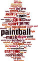 Paintball Word Cloud Concept - PhotoDune Item for Sale