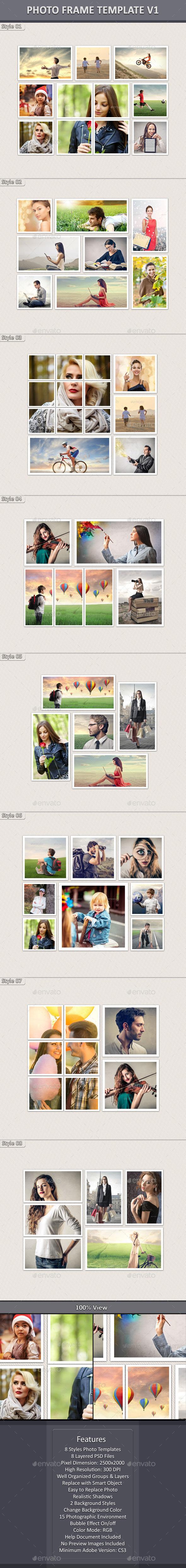 GraphicRiver Photo Frame Template v1 10589887