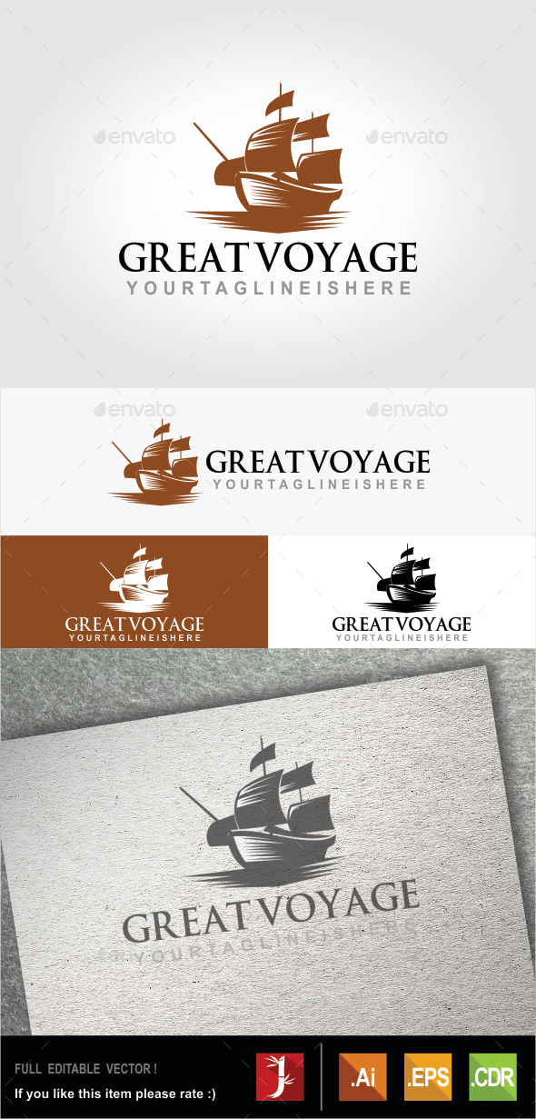 GraphicRiver Great Voyage 10607600