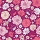 Purple Pink Flower Seamless Pattern - GraphicRiver Item for Sale