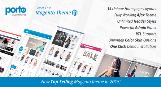 Best Responsive Magento Themes 2015