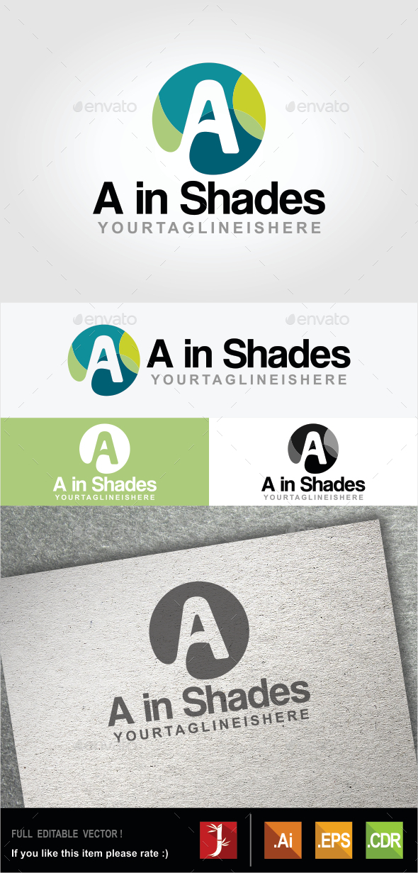 GraphicRiver A in Shades 10607636