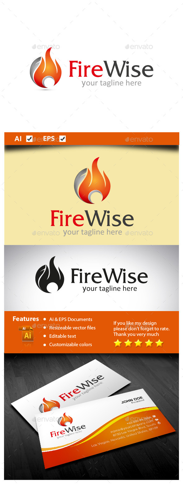 GraphicRiver Fire Wise 10607761