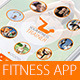 Fitness App - GraphicRiver Item for Sale