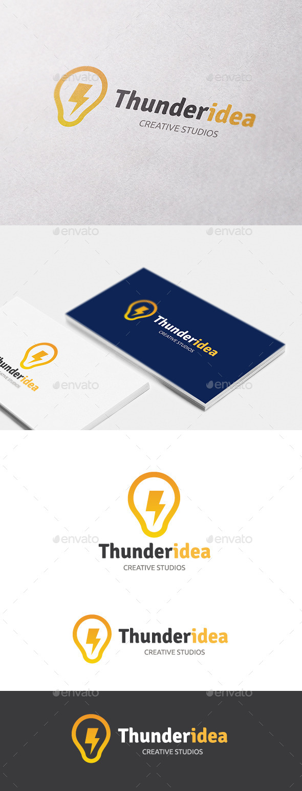 GraphicRiver Thunder Idea 10608044