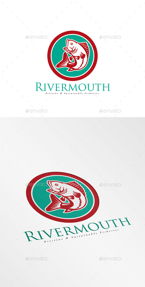 GraphicRiver Rivermouth Sustainable Fisheries Logo 10608085