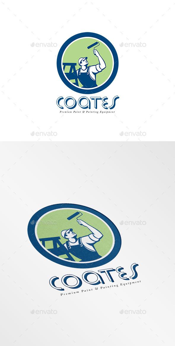 GraphicRiver Coates Premium Painters Logo 10608093