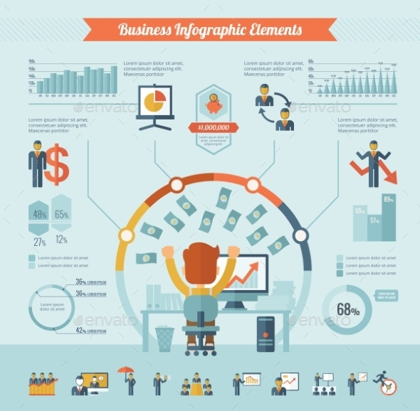GraphicRiver Business Infographic Elements 10608299