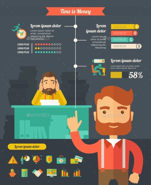 GraphicRiver Business Infographic Elements 10608300