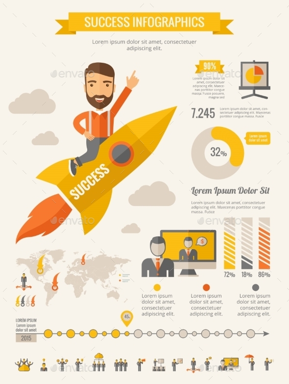 GraphicRiver Business Infographic Elements 10608302