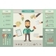 Social Media Infographic Elements. - GraphicRiver Item for Sale