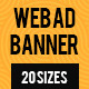 Web Ad Banner - GraphicRiver Item for Sale