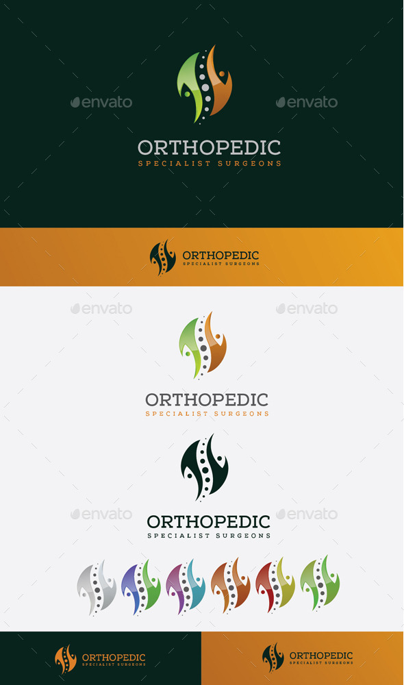 GraphicRiver Orthopedic Surgeon Logo 10608355