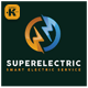 Super Electric Logo - GraphicRiver Item for Sale