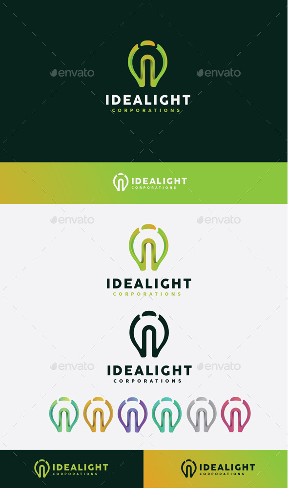 GraphicRiver Idea Light Logo 10608359