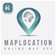 Map Location Logo